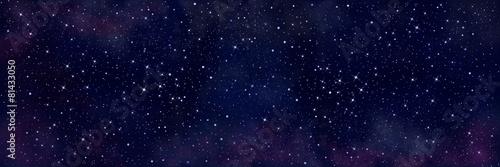 Leinwanddruck Bild Starry sky