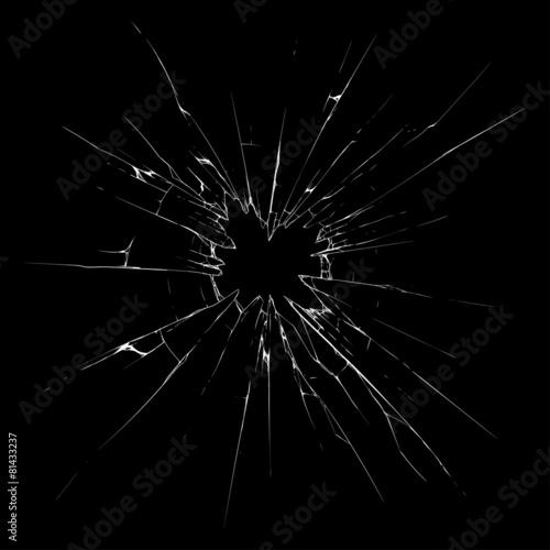 Fototapeta Broken glass