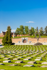 Small Fortress Theresienstadt with cemetery, Terezin, Czech Repu