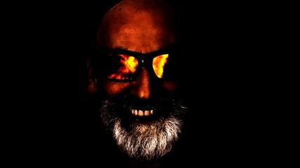 Hypnoglasses hide devil fire artificial