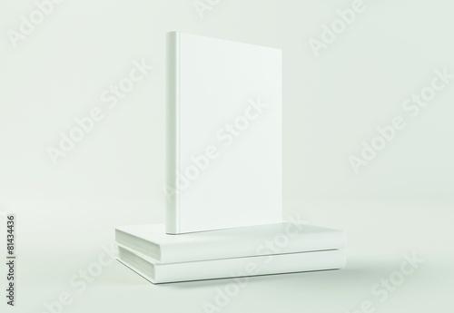 Leinwanddruck Bild Buch Cover Vorlage
