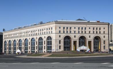 Город Москва. Здание Центрального Детского магазина.
