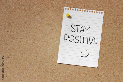 Poster Stay Positive