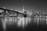 Brooklyng bridge by night - Fine Art prints