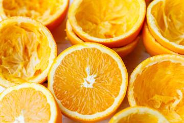 Freshly squeezed oranges