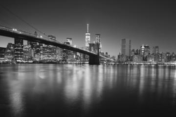 Brooklyng bridge by night