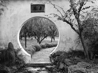 China Suzhou Garden Wall hole