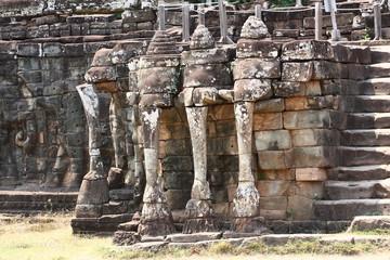 Terrazza degli Elefanti Angkor