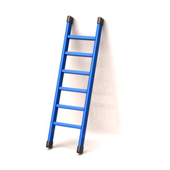 Blue ladder to success