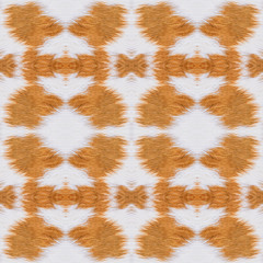 Abstract cow fur pattern background.