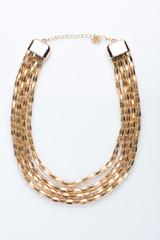 metal feminine necklace.