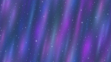 Empty Space, Blue and Lilac Seamless Loop