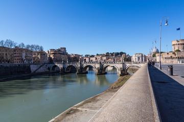 Tiber River - Rome