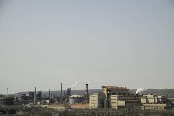 鉄鋼所の風景