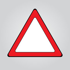 traffic sign . attention sign
