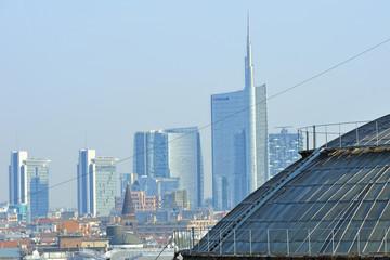 Milano Grattacieli Porta Nuova e Galleria Vittorio Emanuele