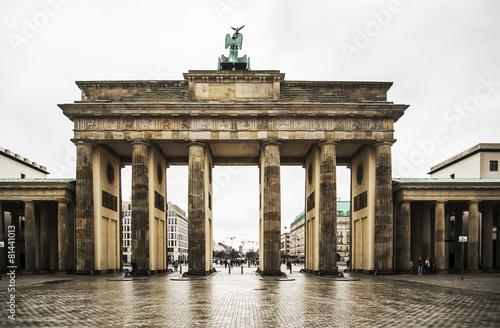 Staande foto Berlijn Brandenburg Gate