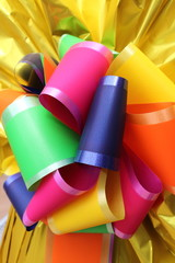 Coloured ribbons