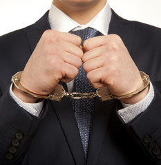 Arrested businessman