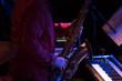 saxophone player in concert - 81444056
