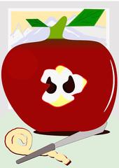 Manzana alpina
