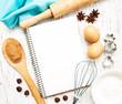 blank recipe book - 81447277