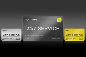 24 hours a day, 7 days a week service platinum card