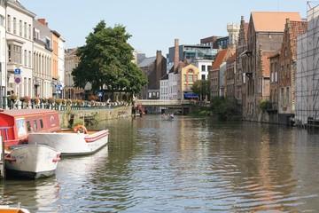 Beatiful Channel in Gent
