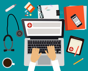 Doctor workplace