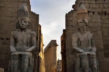 Pylon des Luxor Tempels