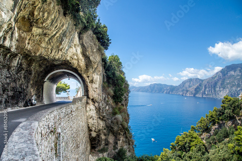 Leinwanddruck Bild Amalfi Coast, Italy