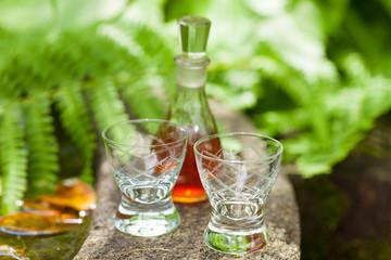 booze - Schnaps im Garten