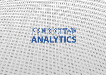 Predictive Analytics concept as vector illustration