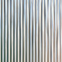 Corrugated iron sheet generated texture