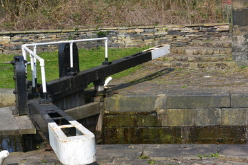 Calder and Hebble Navigation canal and locks