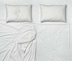 bedding sheet and pillow