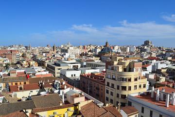 Valencia vista dalla Torres de Quart