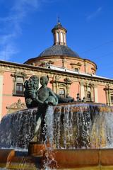 Valencia - Fontana del Rio Turia