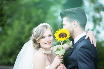 Braut mit Mann