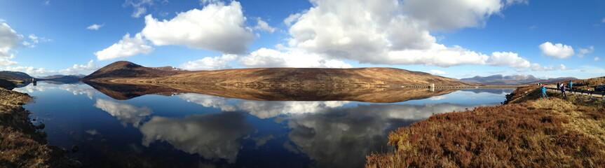 Loch Glascarnoch Schottland Panorama