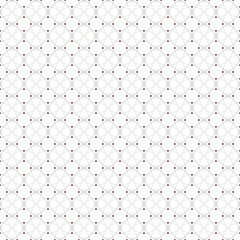 Dotted seamless pattern with circles and nodes. Repeating modern