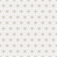Decorative Seamless Floral Decorative Gold & White Background