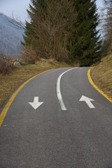 senso di marcia strada ciclabile