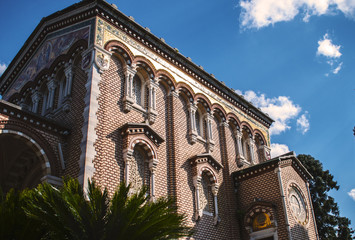Chiesa di villa pamphili in prospettiva