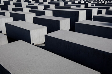 BERLIN, GERMANY - MARCH 22: Memorial to the Murdered Jews of Eur