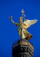 Victory Column Berlin.  statue of victory (siegessaule)