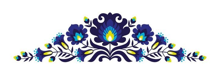 Folk papercuts - Flowers