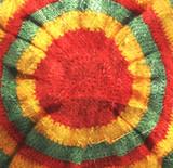 rasta hat hippie background