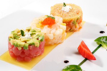 Tartar with tuna fish