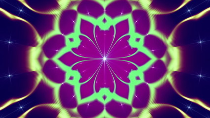 abstract loop background, kaleidoscope